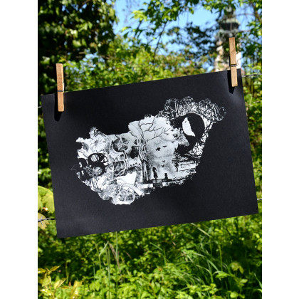 story HUN szitanyomat 35cm x 25cm